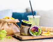 Fuumi : le sushi burrito sans gluten !