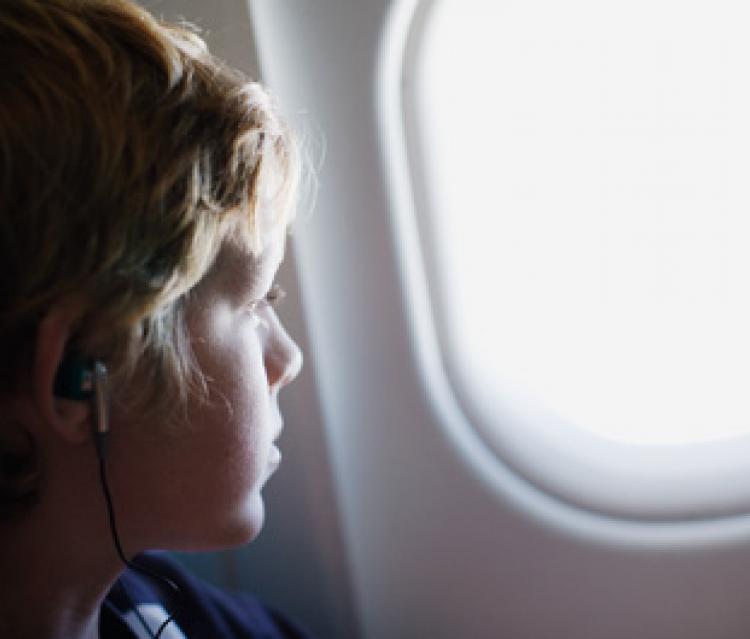 Quand les enfants voyagent seuls...